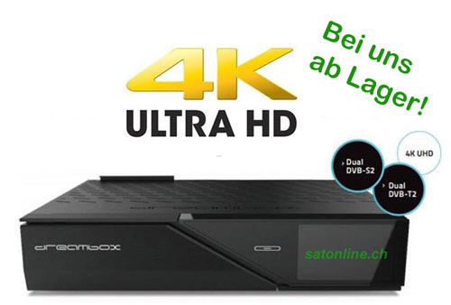 Dreambox 900 bei Satonline an Lager